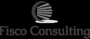 Fisco Consulting logo bianco nero